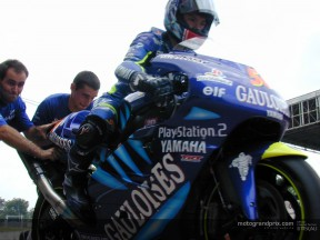 Tech 3 pair test Yamaha M1 at Shah Alam