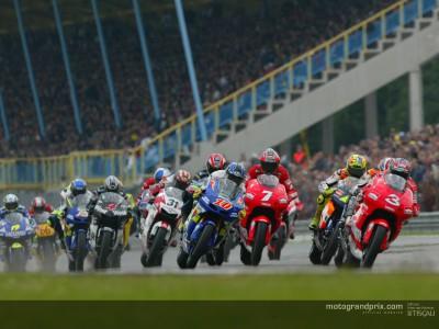 Le calendrier du Championat du Monde MotoGP 2003