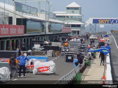 The MotoGP paddock makes its third flyaway stop in Australia