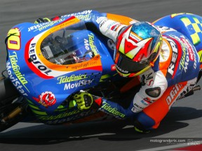 Fonsi takes pole from Melandri