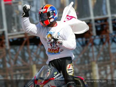 Marco Melandri se proclama Campeón del Mundo logrando la victoria en Australia