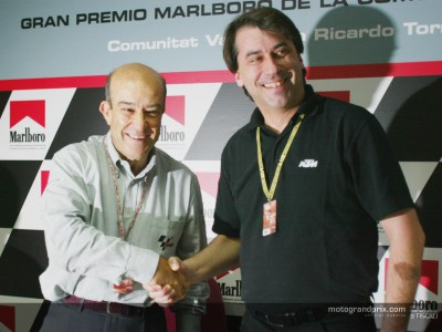 KTM announce MotoGP plans for 2005