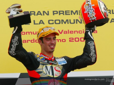 Melandri brings his campaign to a stylish end