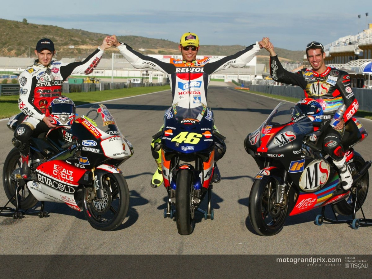 The three 2002 World Champions | MotoGP™