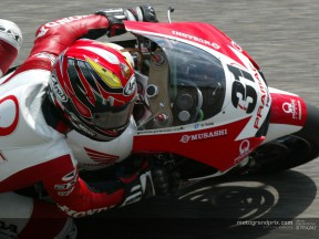 Tetsuya Harada says farewell to MotoGP