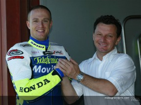 Sete Gibernau talks about his feelings and hopes with his new team