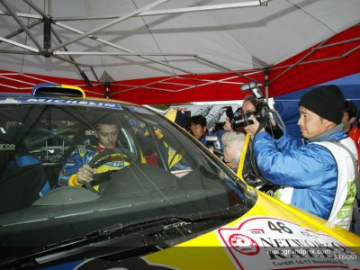 Valentino Rossi out of the RAC Rally