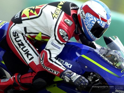 Schwantz tests the GSV-R alongside Hopkins in Malaysia