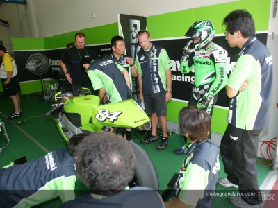 Development stages behind the Kawasaki Ninja ZX-RR