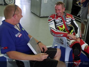 Kevin Schwantz comments on the GSV-R after testing in Malaysia