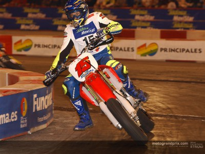 MotoGP riders stand out at Madrid Supermotard