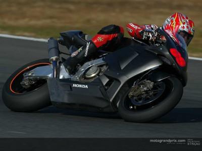 HRC riders kick off Valencia test