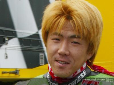 Youichi Ui nel 2003 correrà con l´Aprilia nel team Bossini Sterilgarda Racing