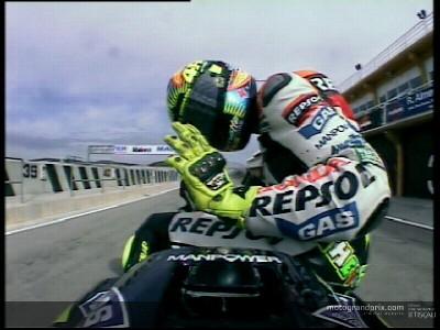 La Honda RC211V par Valentino Rossi