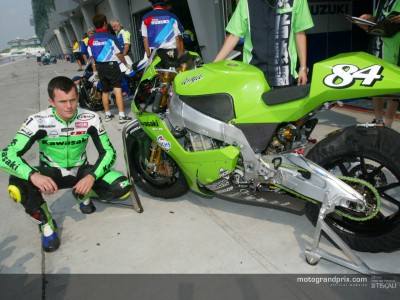 Kawasaki remballe après trois jours d´essais à Sepang