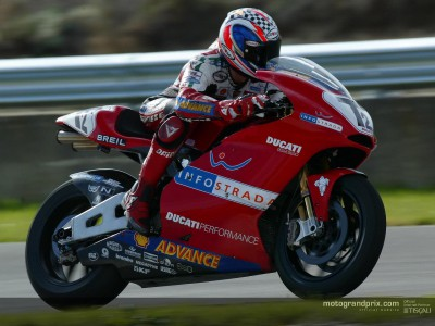 Ducati completes second day of work on Phillip Island