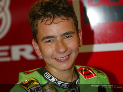 Jorge Lorenzo setting new objectives for 2003