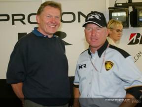 John Barnard, nouveau directeur technique du team Roberts