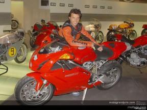 La Ducati accoglie ufficialmente Capirossi