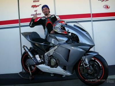 Biaggi ci offre le sue prime impressioni sulla Honda RC211V