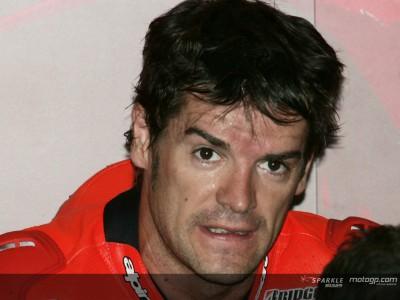 Carlos Checa looks towards Yamaha