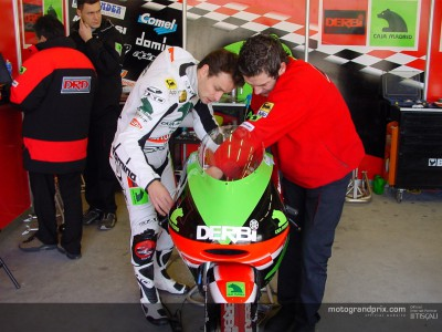 125cc riders at Jerez for first time in 2003