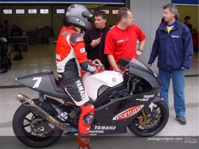 Yamaha begin 2003 testing programme in Jerez