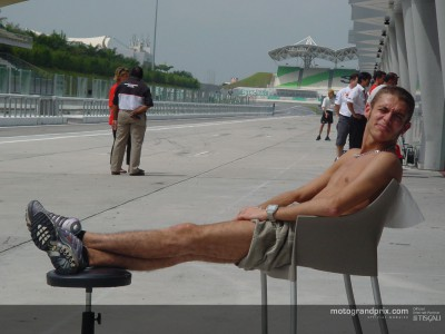 Competition heats up on final day at Sepang