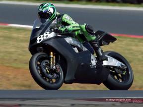 Andrew Pitt hace balance de los tres día de test en el circuito `de casa´