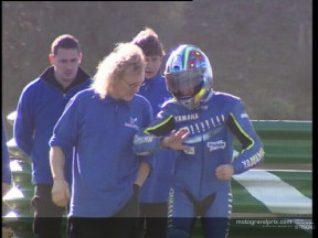 Olivier Jacque prior to his Jerez crash last week