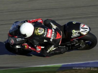 Poggiali, mejor tiempo en Valencia mientras Nieto y Elías  se centran en la puesta a punto de sus motos