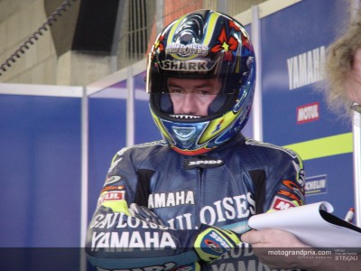 Jacque back on track at Yamaha tests in Catalunya