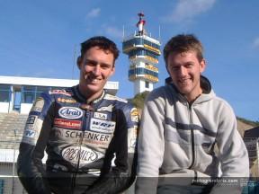 Johan Stigefelt preparing to drive from Sweden to Jerez