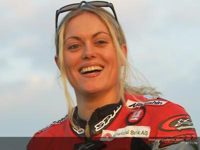 Katja Poensgen ready to get back on a 250