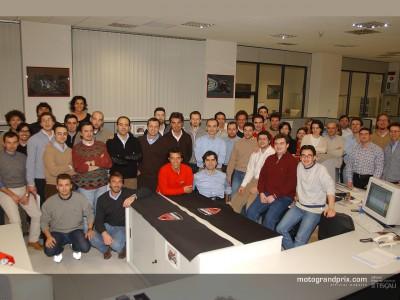 50 dipendenti Ducati sono stati selezionati per la presentazione della squadra