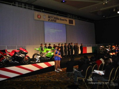 MotoGP fever warms up with Suzuka presentation in Tokyo