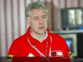 Giampiero Sacchi explica el trabajo de pretemporada de los equipos Derbi y Gilera