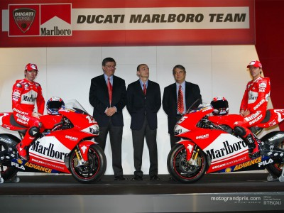 Ducati Marlboro Team unveiled in Milan