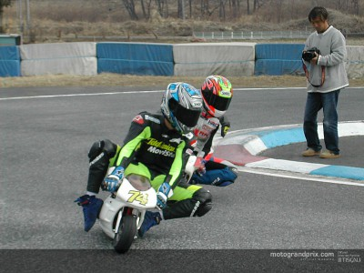 Daijiro Kato aims to help new talent rise through the Pocketbike Championship ranks