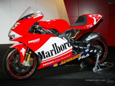Some technical low-down on the new Ducati MotoGP project