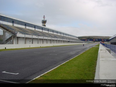 La lluvia marca la primera jornada del Test IRTA de 125cc en Jerez
