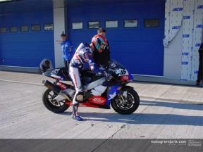 Los pilotos de MotoGP comparecen en la primera gran cita de la pretemporada