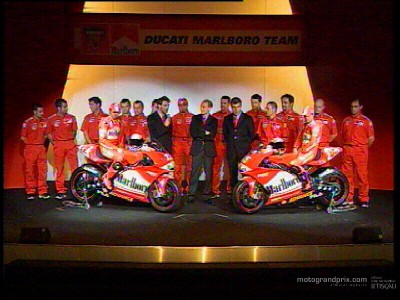 Images of the Ducati Marboro presentation in Milan