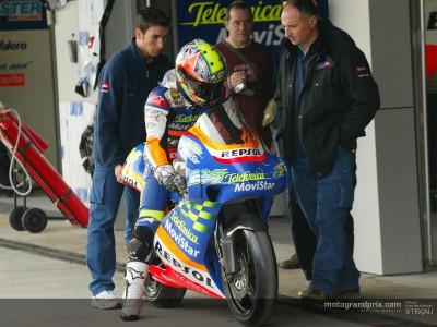 Poggiali se muestra en gran forma en el test IRTA de Jerez