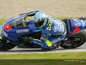 Heavy morning rain spoils MotoGP testing in Jerez