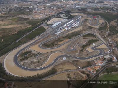 La mayoría de pilotos de MotoGP se concentra en Estoril