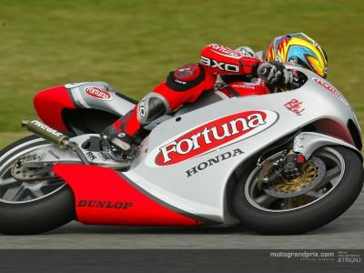 De Puniet quickest again as Rolfo and Poggiali crash