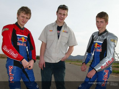 Red Bull Rookies warming up for the new season in Great Britain and Germany