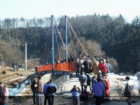 Max Biaggi bridge is opened in Doudleby