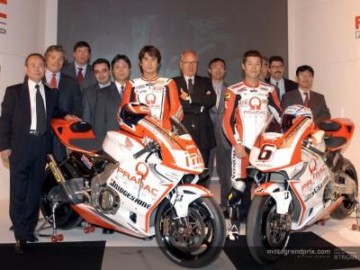 Pramac Racing presentation in Florence